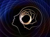 La geometria di anima crescente — Foto Stock