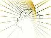 Le meditazioni sulla geometria di anima — Foto Stock