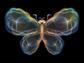Digital Butterfly — Stock Photo