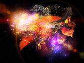 Design Nebulae Burst — Zdjęcie stockowe