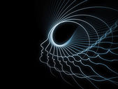 Geometria metaforico anima — Foto Stock