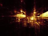 城市的灯光 — 图库照片