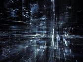 Artificial City — Stock Photo