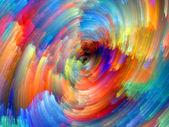 不断变化的颜色 — 图库照片