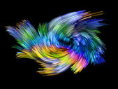 Color Swirl — Stock Photo