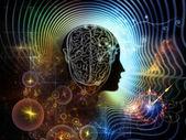 人間の心の錯覚 — ストック写真