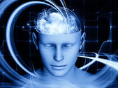 Mind Visualization — Stock Photo