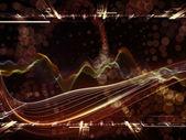 Regni virtuali frattale — Foto Stock