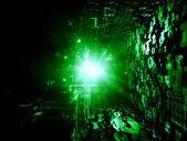 Магия фрактальных миров — Стоковое фото