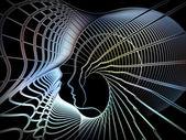 Propagation of Soul Geometry — 图库照片