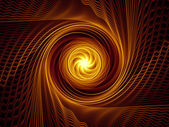 Fractal Burst Design — Stock Photo
