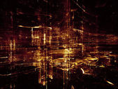 Accidental City — Stock Photo