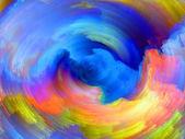 Kolorowy wir — Zdjęcie stockowe