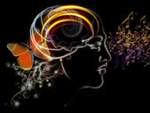 Synergies of Human Mind — Stock Photo
