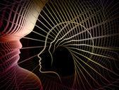 Surgimento da geometria de alma — Foto Stock
