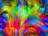 Virtual Color — Stock Photo