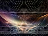 Em direção a reinos fractal digital — Foto Stock