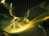 энергия фрактальных миров — Стоковое фото