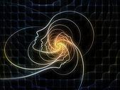 émergence de la géométrie de l'âme — Photo