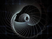 Geometria concettuale anima — Foto Stock