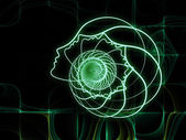 Geometria di anima in evoluzione — Foto Stock
