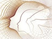 élégance de la géométrie de l'âme — Photo