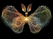Glow of Butterfly — Stock Photo