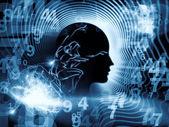 Virtual Human Mind — Stock Photo