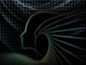 Kavramsal ruhun geometrisi — Stok fotoğraf