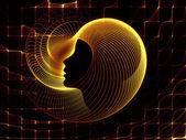 Ruhun geometrisi krallıkları — Stok fotoğraf