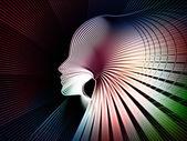 Telón de fondo de alma geometría — Foto de Stock