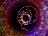 Ruhun geometrisi zemin — Stok fotoğraf