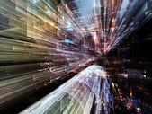 Lights of Future City — ストック写真