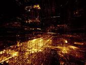 Lights of City — Stock Photo