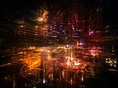 Toward Digital City — Stock Photo
