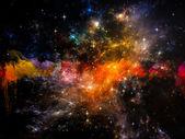 Space Burst — Stock Photo