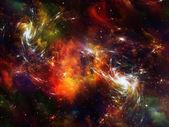 Space Nebula — Stock Photo