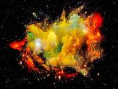 Nebulosa espacial — Foto de Stock