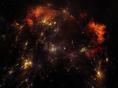 Nebula Backdrop — Stock Photo
