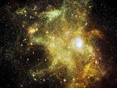 Hermosa nebulosa — Foto de Stock