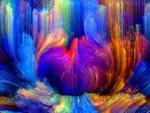 Flor de color — Foto de Stock