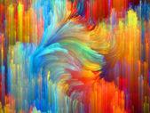 Color Propagation — Stockfoto
