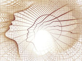 Paradigm för själen geometri — Stockfoto