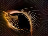 Antecedentes de la geometría de alma — Foto de Stock