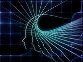 Realidad de la geometría del alma — Foto de Stock