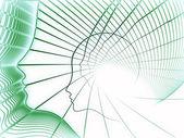 Paradigma de la geometría del alma — Foto de Stock