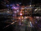 Stedelijke lichten — Stockfoto
