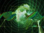 Emergence of DNA — Stock Photo