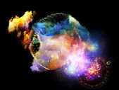 Emergence of Design Nebulae — Stock Photo