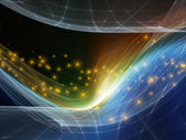 Fractal Realms Visualization — Stock Photo